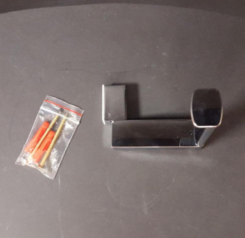 sanitaer wc papierhalter verchromt ohne. Black Bedroom Furniture Sets. Home Design Ideas